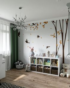 [New] The 10 Best Home Decor (with Pictures) - How do you design a children's room? Baby Bedroom, Baby Boy Rooms, Little Girl Rooms, Baby Room Decor, Nursery Room, Bedroom Decor, Kids Bedroom Designs, Playroom Design, Baby Room Design