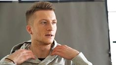 Marco Reus, can't put his hood up?