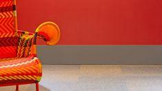 Blog da Revestir.com: Rodapés e perfis coloridos na Santa Luzia homenageiam Le Corbusier