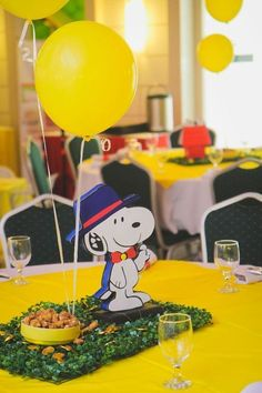 A decoração de festa infantil tema Snoopy promete satisfazer as expectativas de crianças de todas as idades e também dos adultos. Veja ideias criativas!