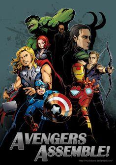 Avengers Assemble! by Mushstone on deviantART