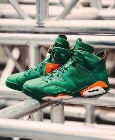 """91ad27728baf6f Air Jordan 6 """"Gatorade"""" Sporty Fashion"""