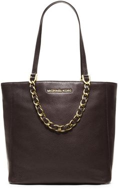 My latest purchase and I am in LOVE! Michael Kors Michael Medium Harper Pebbled Tote