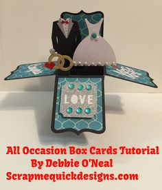 Full tutorial on the new Cricut All Occasion Box Cards Cartridge. Tips for locating, purchasing, sizing and assembling in Cricut Design Space. Thanks for usi...