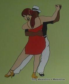 Dança do Malandrinho das Almas e sua Senhora a Dama do Cabaré !