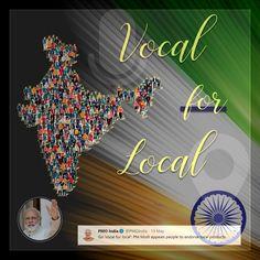 PM Modi - Vocal For Local Graphic Design, Movie Posters, Film Poster, Billboard, Visual Communication, Film Posters