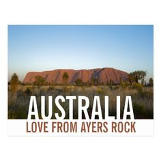 Love From Australia Ayers Rock Uluru Postcard best friend graduating, graduation gift ideas for best friend, best friend birthday quotes bestfriends #bestfriendsever #bestfriendforlife #bestfriendsbaby, easy christmas crafts for kids, christmas activities for kids, easy christmas crafts, diy christmas crafts Christmas Activities For Kids, Christmas Crafts For Kids, Ayers Rock, Birthday Quotes For Best Friend, Australia Travel, Postcard Size, Around The Worlds, Vacation, Love