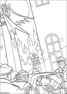 Batman Coloring Page 7 Is A From BookLet Your Children Express Their Imagination When They Color The