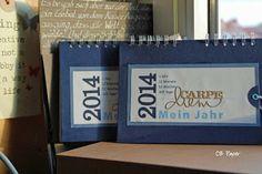 CB Paper: Die ersten Kalender in diesem Jahr ...
