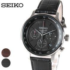 1881年に創業し、日本初の腕時計を、そして 世界初のクオーツウオッチを製品化した 日本が誇る時計のトップブランド、SEIKO(セイコー) そんなSEIKOの中でも、日本公式未発売の逆輸入モデルは 非常に人気が高いアイテムです。 こちらの腕時計も逆輸入モデルの一つ。 スタイリッシュな文字盤に、上品なレザーベルトで高級感があり、 ビジネスシーンやフォーマルなシーンなど、 幅広いシーンで活躍してくれます。 もちろん、機能性も充実しています! 便利なカレンダー機能や、クロノグラフ、 100m防水など、便利な機能が満載。 新生活用や、大切な方へのプレゼントとしてもオススメですよ◎ ●仕様:クロノグラフ、100m防水、カレンダー(日付)、クォーツ ●SIZE:ベルトの長さ/ベルトの幅/ヘッドの長さ/ヘッドの幅/重さ F:16-21.5/1.7/4/4cm/71g