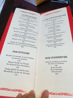 Ralph 39 s paris menu christmas in paris 2013 pinterest - Le comptoir du relais menu ...
