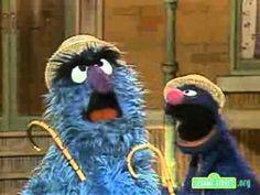 Sesame Street - Fuzzy And Blue