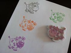 La vaquita de lanita: Carvado de sellos