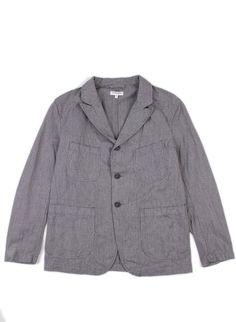 Bedford Jacket Grey Homespun