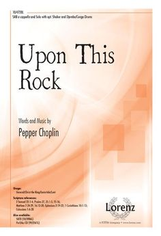 Upon This Rock - percussion, great for a Choralfest or HS