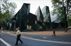 Jewish Community Centre en Mainz, Alemania. photos Iwan Baan