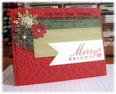 Merry & bright challenge by Minders - Cards and Paper Crafts at Splitcoaststampers