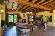 Hacienda Style in Rancho Santa Fe. Offered by Catherine and Jason Barry, Barry Estates, www.catherineandjasonbarry.com
