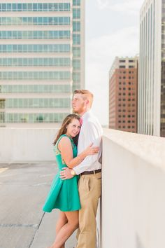 """Downtown Raleigh Engagement Session"""