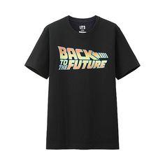 3ffbace1781eb UNIQLO MEN アメリカングラフィックTシャツ Back to the future ¥990- +税 Uniqlo