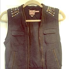 Juicy couture vest Super cute with tops and dresses! --like new :-) good condition Juicy Couture Jackets & Coats Vests