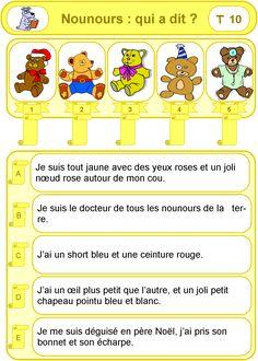 IPOTÂME ....TÂME: CP activité lecture de phrases - Associe chaque image à la phrase qui lui correspond.