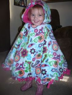 With or without hood! It's super simple! Items needed for this super simple poncho: ~Fleece (how much will depend on the size of ponc...