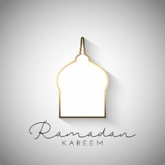 Ramadan kareem background with simplistic design