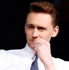 Tom gives a smart look ;)