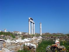 Welcome to Delos, otherwise known as one of the most important mythological, historical and archaeological sites in Greece #delos #greece