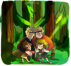 Goodbye Gravity Falls
