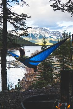 Hammock camping is just better