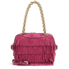 Burberry London - Night Bee fringed suede shoulder bag - mytheresa.com