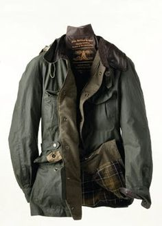 """Barbour Horse Riding Jacket (549,90 Euro - too much for me) This was the 2010 line from """"To Ki To"""" men's collection by Tokihito Yoshida."""
