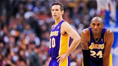 Only Steve Nash and Kobe Bryant on the court tonight... Never thought I'd see that!