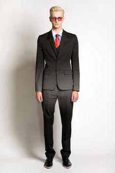 Jonathan Saunders Spring 2014 Menswear Fashion Show