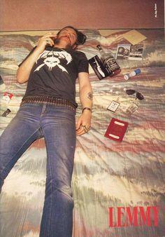 Lemmy Kilmister doing what I do best.