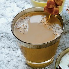 Festive Milk Punch Recipes: Caramel-and-Chicory Milk Punch
