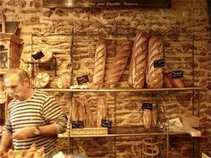 Why put this in places? Well because you can visit SOOOOO many of these meccas of bread and deliciousness in France... Yes... yes i know... we have bakeries and they are good... but for us BREADAHOLICS... there is nothing... NOTHING i tell u better than a loaf of fresh delicious baguette ... oh I need to visit my sister!