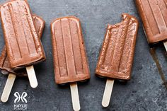 Phase 1, Phase 2, Phase 3: FMD Fudgesicles! (Need we say more?) Made with our Dessert & Snack Mix.
