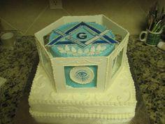 Masonic cake #3