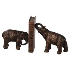 I think it's time we addressed the elephant bookends in the room.