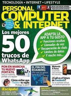 Revista Personal Computer & Internet 159. Los mejores 50 trucos de #Whatsapp.