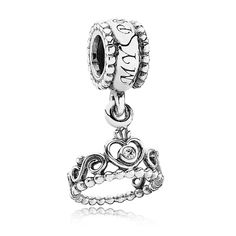 Pandora My Princess with Clear CZ Dangle  IN LOVE WITH THIS!
