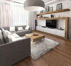 furnishing-ideas-living-gray-sofa-TV-wall-wood-white-brick-wall.jpg 600×556 пикс