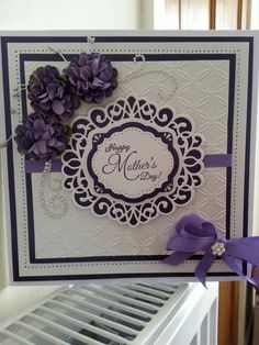 Made using Couture Creations embossing folder and Sue Wilson dies.