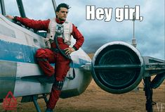 Best pilot in the resistance! (Besides Han, of course. :-P )
