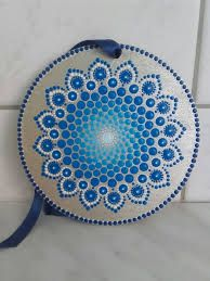 Hand painted by Enikő Dot Painting Tools, Dot Art Painting, Pottery Painting, Stone Painting, Mandala Doodle, Mandala Canvas, Mandalas Painting, Mandalas Drawing, Mandala Painted Rocks