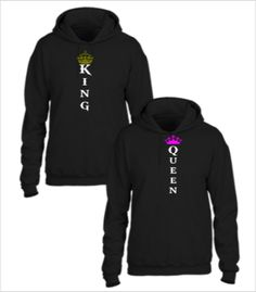 KING AND QUEEN COUPLE - Couple hoodie