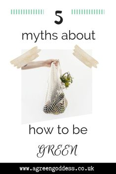 5 Myths About How To Be Green. Are you making these mistakes in your quest to be green? Reduce Waste, Zero Waste, Plastic Waste, Organic Living, Eco Friendly House, Go Green, Sustainable Living, Mistakes, Sustainability